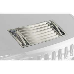 Putco 401047 Chrome Hood Deck Vent Handle for Hummer H2