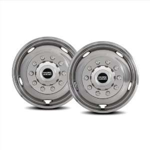 Pacific Dualies 46 2950 19.5 Polished Stainless Steel Wheel Simulator