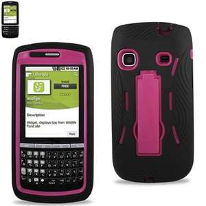 Sprint Samsung Replenish M580 Hybrid Impact Stand Case Hot Pink Boost