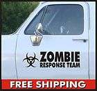 Zombie Response Team Stickers Decal JDM Set Vinyl Car