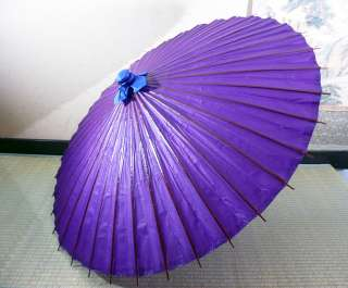 Japanese Traditional Paper Umbrella (Bangasa) Purple