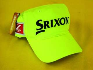 NEW SRIXON Z STAR Tour YELLOW Adjustable Golf Hat/Cap