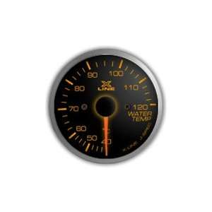 STRI Racing X Line SLS 60mm Water Temp. Gauge Amber LED Automotive