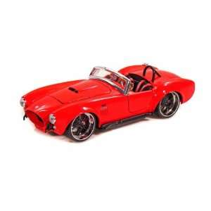 1965 Ford Shelby Cobra 427 1/24 Red Toys & Games