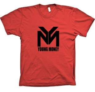 YOUNG MONEY T Shirt YMCMB lil wayne hip hop new