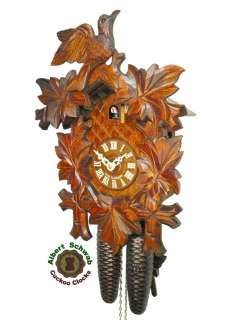 genuine hand made Black Forest cuckoo clock. New, 1st choice