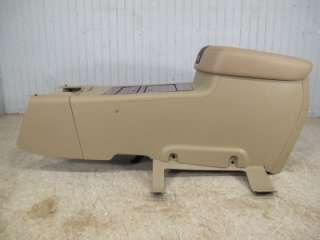 07 2012 CHEVY SILVERADO GMC SIERRA GRAY CASHMERE TAN CENTER CONSOLE