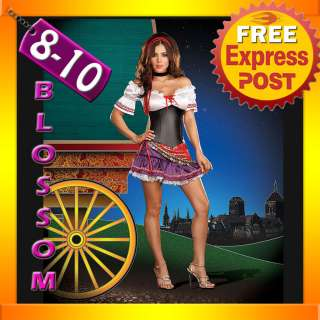 2079 Ladies Mysterious Fortune Teller Circus Gypsy Fancy Dress