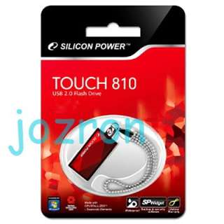 Silicon Power 810 16G 16GB USB Flash Pen Drive Disk Red