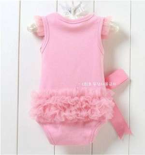 New baby girls bodysuit one piece Princess Dress kids T shirt & dress