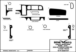 FREIGHTLINER M2 2002 03 2004 05 2006 WOOD GRAIN KIT