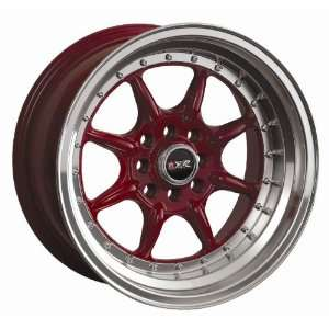 15 8 XXR Red 002 Wheels Rims E30 Miata AE86 Datsun 280z SET OF 15 INCH