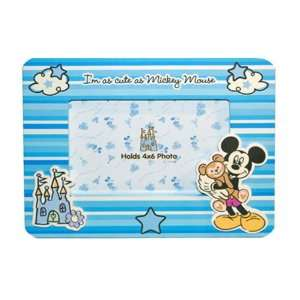 Disneyland Walt Disney World Baby Boy Mickey Mouse Photo Frame Baby