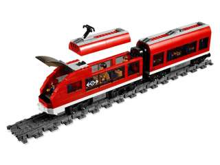 Brand Korea Lego City Trains 7938 Figures Sets toys Passenger Train