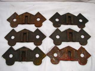 LOT 6 BOWER LEBANON PA CAST IRON SNOW BIRD STOPS