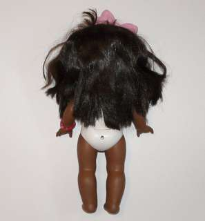 vtg PJ Sparkles black African American baby doll Mattel 1988 lights up