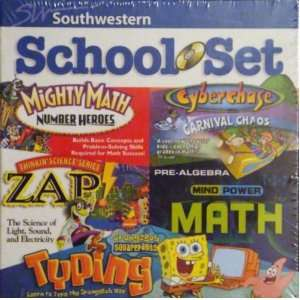 School Set Mighty Math Number Heroes, Cyberchase Carnival