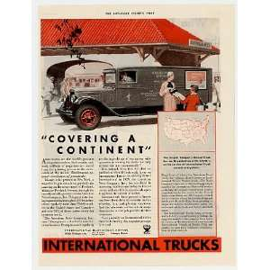 1933 IH International Harvester Magazine Delivery Truck