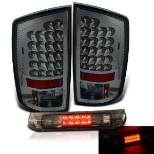 02 06 Dodge Ram Smoked LED Tail Lights + LED Brake Automotive