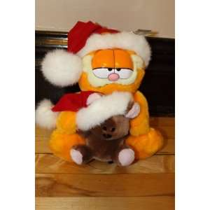 hat and holding Pooky the teddy bear wear a Santa hat. Toys & Games