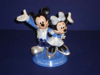 Disney Mickey Minnie Mouse Arribas Dance Figurine