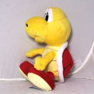 New Nintendo Super Mario Red Koopa Troopa Plush Doll