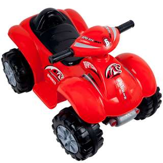 Rockin Rollers™ Rally Racer Battery Powered 4x4 ATV – Red   Great