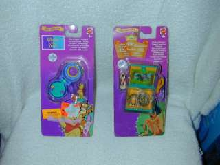 1998 DISNEY Mini Collection WINNIE POOH JUNGLE BOOK Polly Pocket