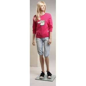 Female Realistic Teenage Girl Mannequin BC12