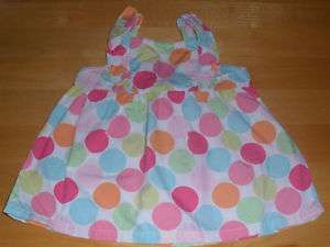 NWT Gymboree POPSICLE PARTY Polka Dot Top~ 12 18 or 3T