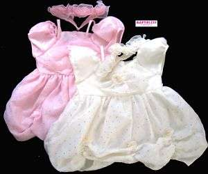 NEW Baby Girls Clothes Bubbly Satin/Chiffon Dress 6 12m
