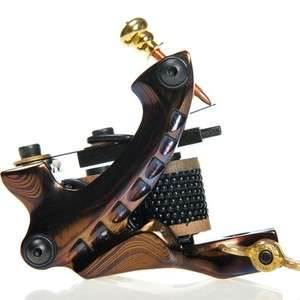 Top Handmade Damascus Steel Tattoo Machine Gun Shader