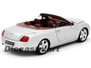 MINICHAMPS 118 2006 BENTLEY CONTINENTAL GTC NEW DIECAST MODEL CAR