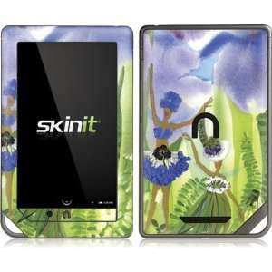 Skinit Blue Flower Fairies Vinyl Skin for Nook Color / Nook Tablet by