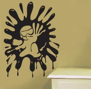 Vinyl Wall Art Decal Sticker Paintball Extreme Sport