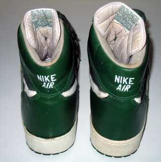 Vintage 1984 NIKE AIR Boston Celtics Basketball Shoes Promo Sample PS