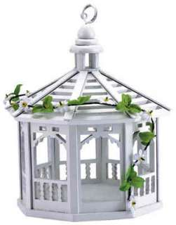 30209 white gazebo bird feeder gazebo bird feeder is tastefully