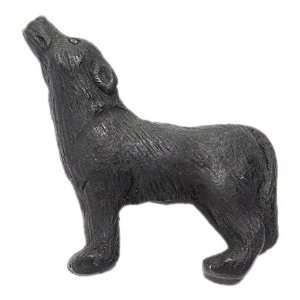 Ceramic Howling Wolf Beads, Black, 3 Per Pack Arts, Crafts & Sewing