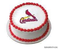 St. Louis Cardinals Edible Image Icing Cake Topper