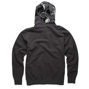 Fox Racing Ink Spill Zip Hoody Graphite, L *NWT*