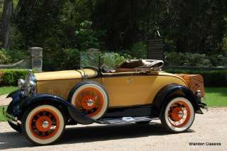 Ford  Model A Deluxe Rumble Seat Roadster