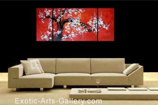Cherry Blossom Abstract Art Oil Paintings on canvas art