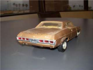 VTG ORIGINAL 1/25 AMT 1969 CHEVROLET IMPALA SS427 HOT ROD DRAG RACER