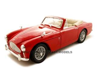 1958 ASTON MARTIN DB2 4 MK 3 RED 118 DIECAST MODEL CAR