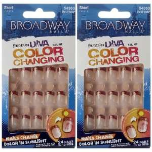 PACK** NEW Broadway Fashion Diva Color Changing   **SUNRISE** Beauty