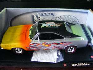 Hot wheels 69 Dodge Charger Sign 1st Convention rare