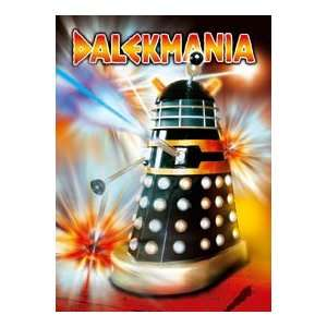 Daleks Black Fridge Magnet   High Quality Steel Refrigerator Magnet