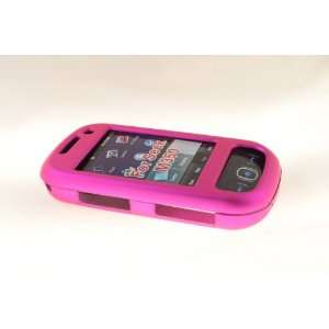 Samsung Seek M350 Hard Case Cover for Metallic Pink