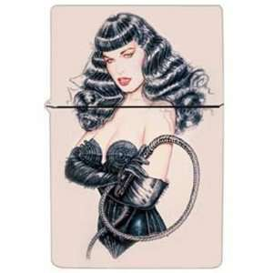 Bettie Page   Whip Refillable Lighter