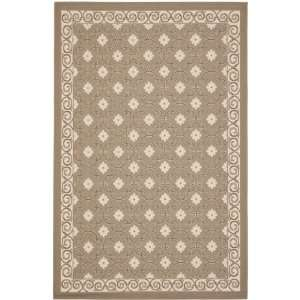 Safavieh Courtyard Collection CY7810 97A7 6 Feet 7 Inch by